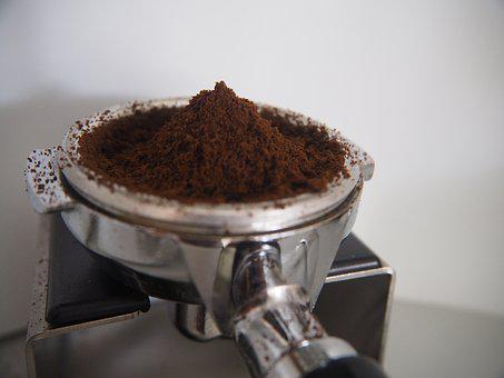 Portafilter, Coffee, Ground Coffee, Espresso