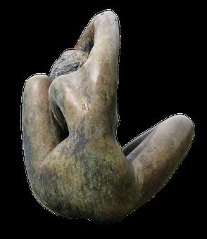 Sculpture, Female, Bronze Statue, Feminine, Statue