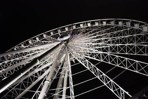 New, Festival, Great, Wheel, Enjoy, Ferris Wheel