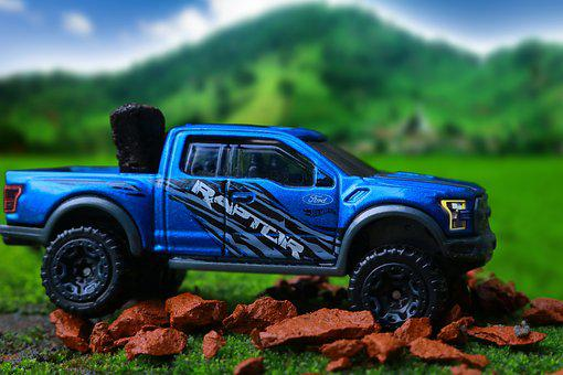 Ford, 4x4, Miniature, Vehicle, Off Road, Hill