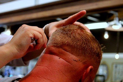 Barber, Razor, Hair Cut, Barber Shop, Hair, Shave, Man