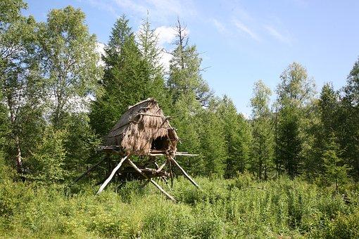 Labaz, Dwelling Evens, House On Stilts