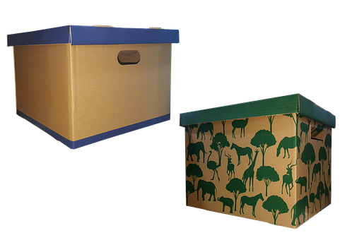 Movable, Box, Carton, Moving Boxes, Cardboard, Home