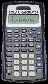 Solar, Calculator, Pi, Math, Office, Technology