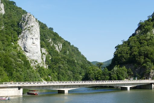 Danube, River, Serbia, Landscape, Rock, Iron Gate
