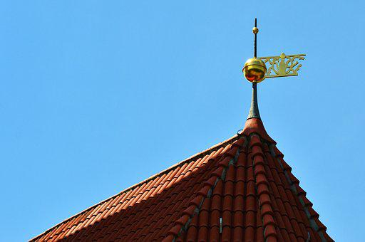 Roof, Gable, Tile, Building, Roofing, Brick, Roof Top