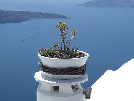 Santorini, Greece, Vase