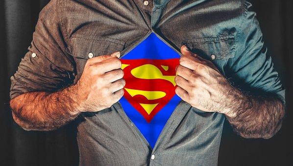 Superhero, Shirt, Tearing, Superman, Everyday Life