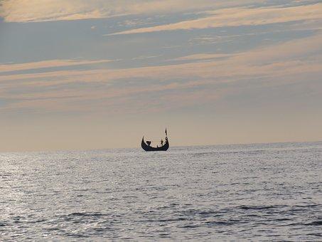 Bay Of Bengal, St Martins, Sea, Boat, Ocean, Water