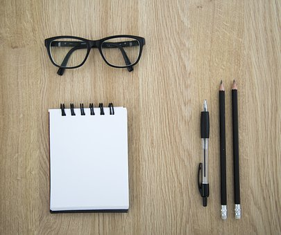 Pen, Glasses, Study, Planning, Project, Work, Education