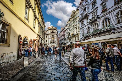 Prague, Old, Town, Praha, Tourist, Tourism, Travel