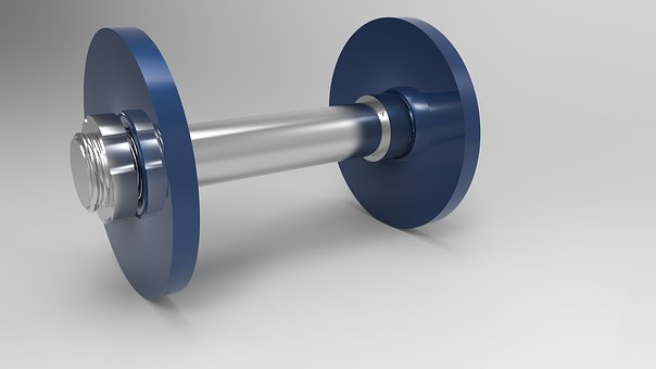 Dumbbell, Sport, Training, Force, Body Building