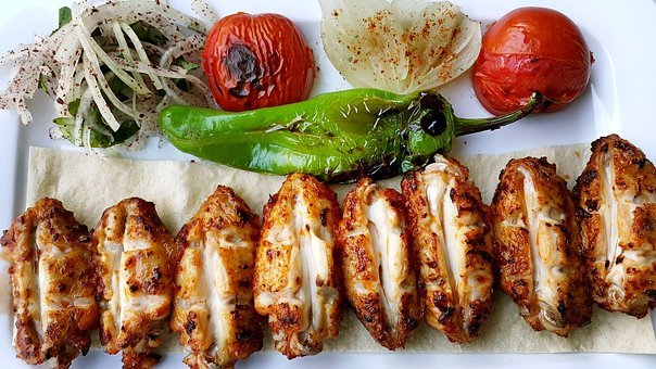Kebab, Food, Turkish Cuisine, Grill, Presentation Kebab