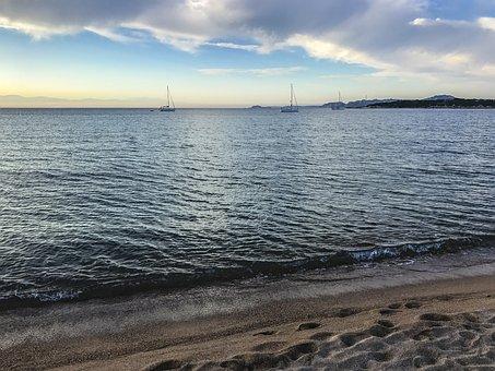 Sardinia, Sardegna, Beach, Coast, Sand, Palau