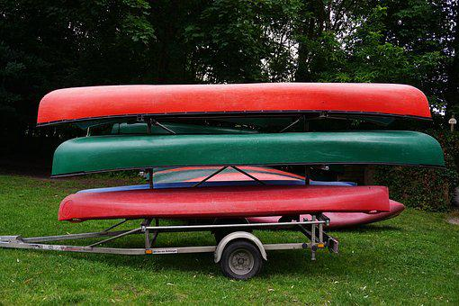Canoeing, Boat Trailer, Transport