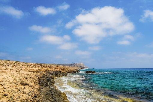 Coastline, Rocky, Coast, Landscape, Nature, Cliff