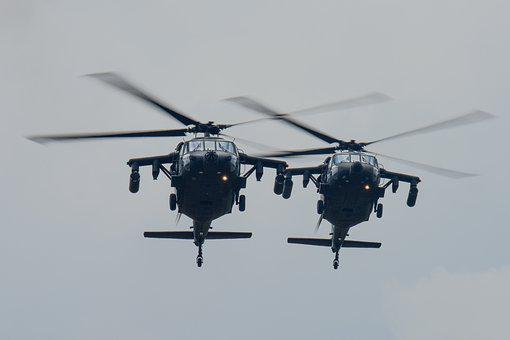 Uh-60 Blackhawk, Colombian Air Force, Helicopter