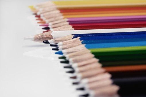 Colored Pencils, Color, Colour Pencils, Pens