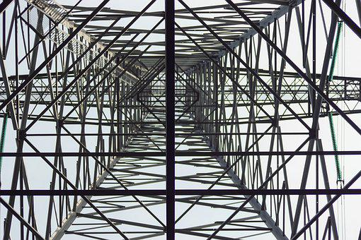 Electricity, High Voltage, Pylon, Elektriciteitsmast