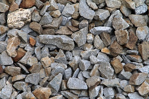Stones, Background, Structure, Rock, Pattern, Railway