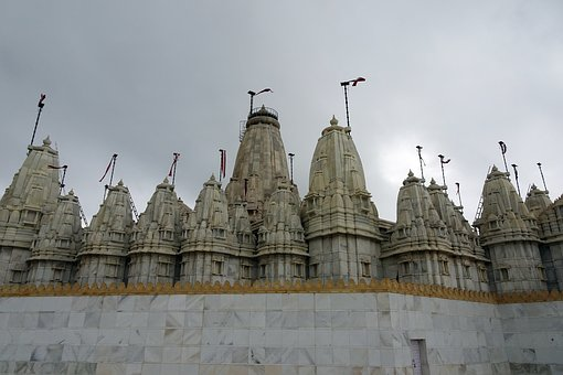 Temple, Jain, Architecture, Sculpture, Tourism