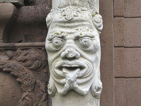 Corvey, Steinmetz, Stone, Art, Sculpture, Stone Figure