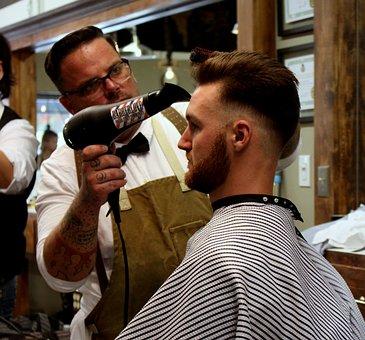 Barber, Hair Dryer, Hair, Salon, Hairdresser, Stylist