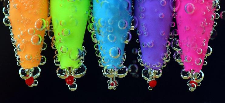 Pens, Water, Colored Pencils, Pen, Underwater, Close