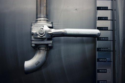 Pipe, Knob, Handle, Water, Metal, Equipment, Industrial