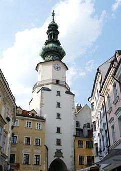 Bratislava, Slovakia, City, Old Town, Downtown, Capital