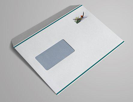 Window Envelope, C5, Letters, Envelope, Leave, Mailing