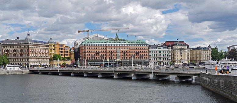 Stockholm, Center, Capital, Sweden, Downtown