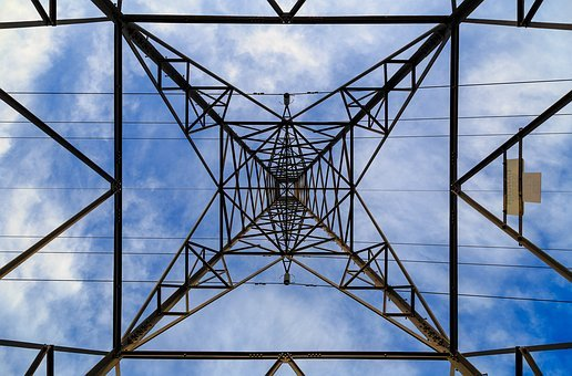 Pylon, Sky, Electricity, Tower, Electrical, Cable