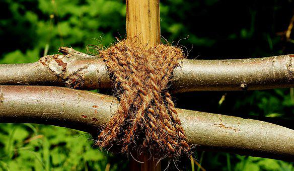 Aesthetic, Rope, Tied Together, Knitting, Knot, Woven