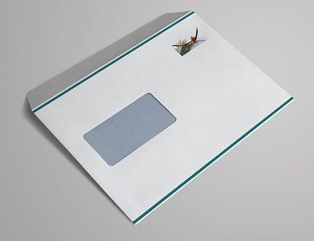 Window Envelope, C5, Letters, Envelope, Write, Mailing