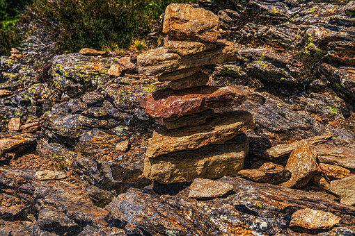 Cairn, Tower, Meditation, Rock, Stacked, Hike, Smart