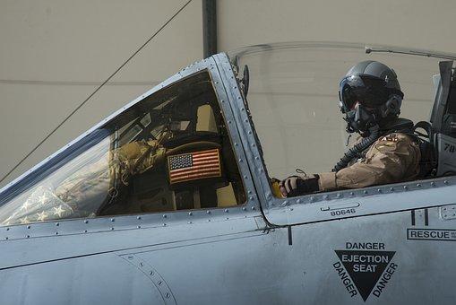 Pilot, A-10, Warthog, Thunderbolt, Usaf
