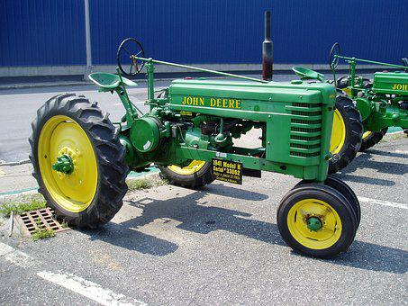 Tractor, Deere, Antique, John, Agriculture, Machinery