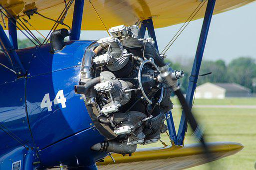 Radial, Engine, Wwii, Propeller, Airplane, Power
