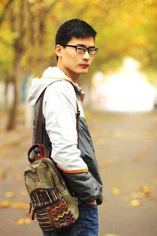 Autumn, Street Photography, Campus