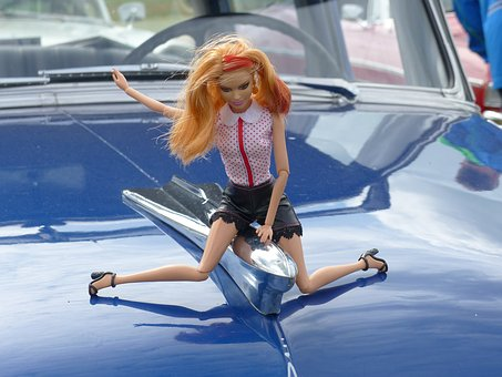 Barbie, Doll, Clothing, Bonnet, Vehicles, Colors