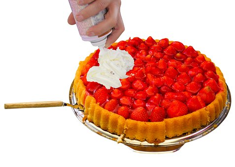 Eat, Food, Cake, Strawberries, Strawberry Cake, Cream