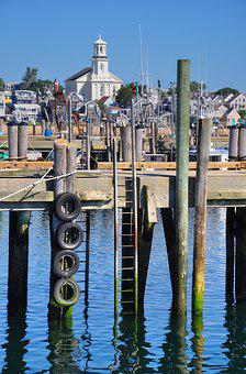 Provincetown, Wharf, Boat, Cape, Cod, Fishing, Nautical