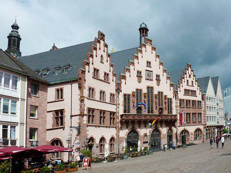 Frankfurt, Romans, Town Hall, Imperial City, City