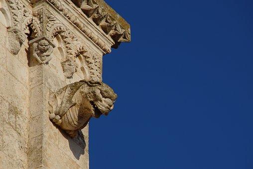 Gargoyle, Sculpture, Monument, Religious Monuments