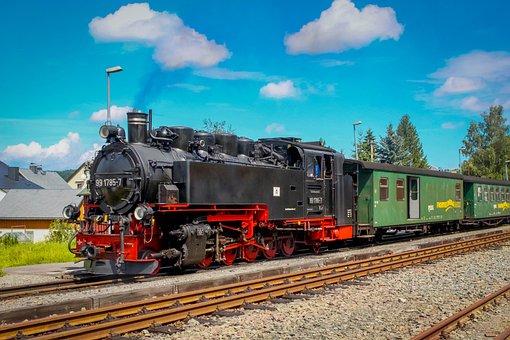 Locomotive, Machine, Steam Locomotive, Railway, Train