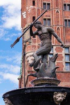 Gdańsk, Neptunium, Monument, Trójmiasto, Old Town