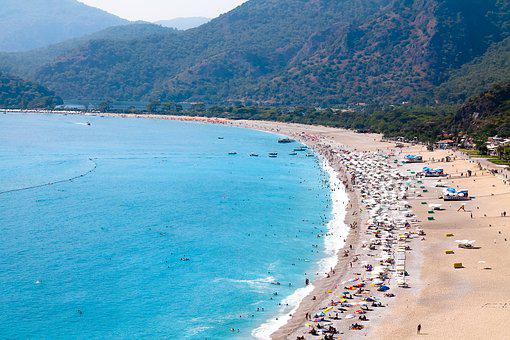 Oludeniz, Fethiye, Dead Sea, Beach, Turkey, Holiday