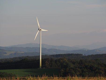 Pinwheel, Landscape, Current, Wind Energy, Wind Power