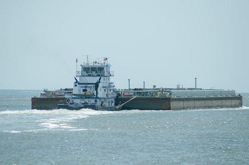 Tug, Boat, Transport, Sea, Water, Ship, Industry